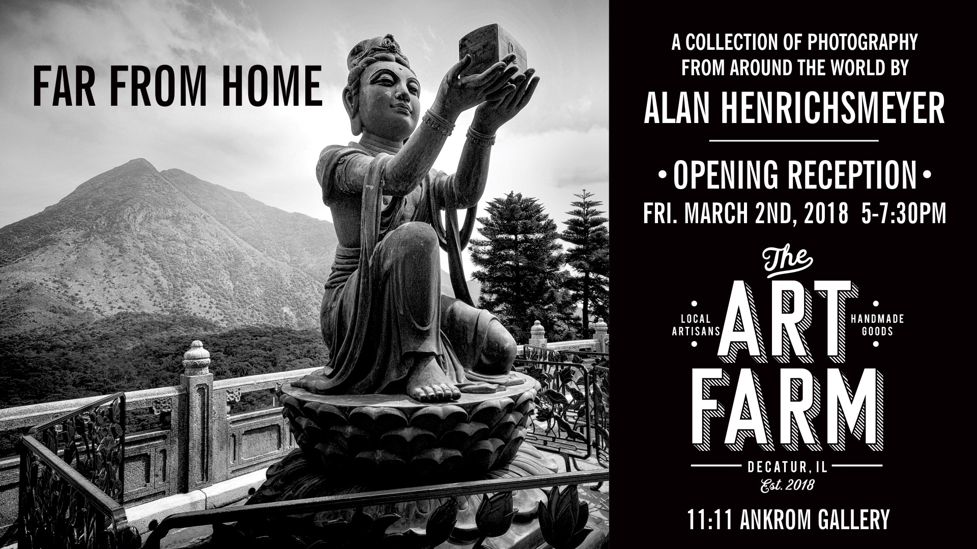 Far From Home – March Gallery Exhibit Opening