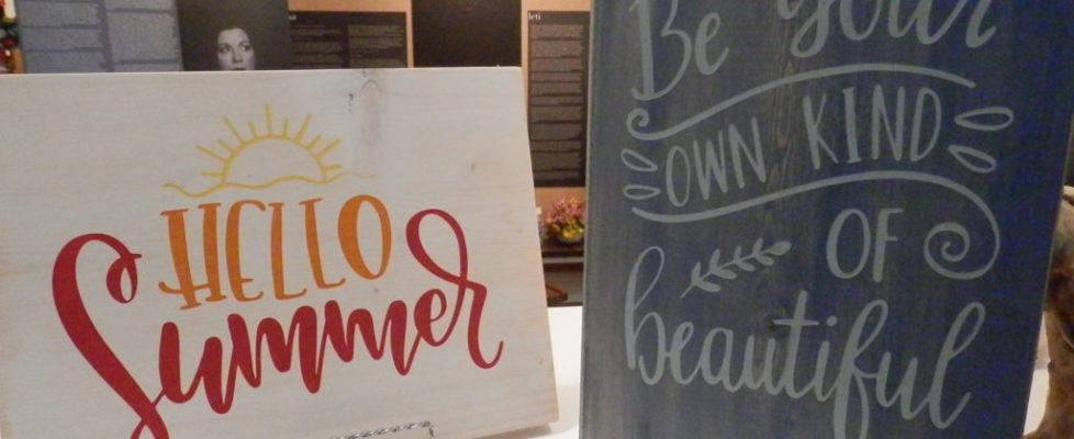 Sign Painting with Stefanie Rohman
